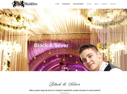 Black and Siver